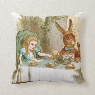 The Mad Hatter's Tea Party Cushion