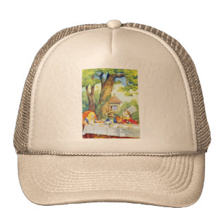 The Mad Hatters Tea Party Full Color Trucker Hat