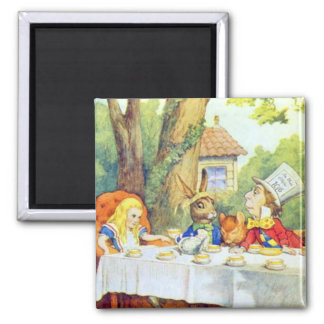The Mad Hatters Tea Party Full Color Magnet