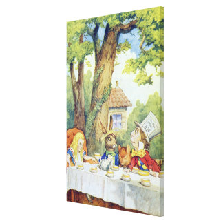 The Mad Hatter's Tea Party Gallery Wrapped Canvas