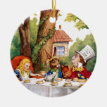 The Mad Hatter's Tea Party in Wonderland