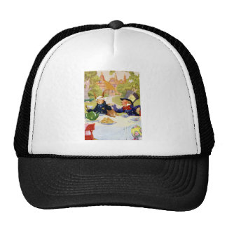 The Mad Hatters Tea Party in Wonderland Mesh Hat