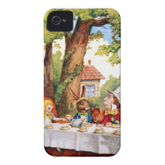 The Mad Hatter's Tea Party in Wonderland iPhone 4 Case