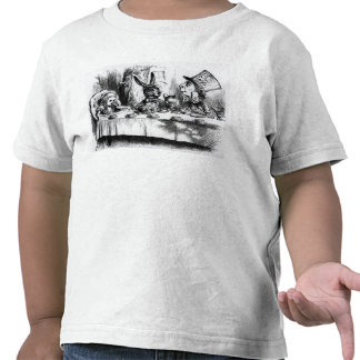 The Mad Hatter's Tea Party Tshirts