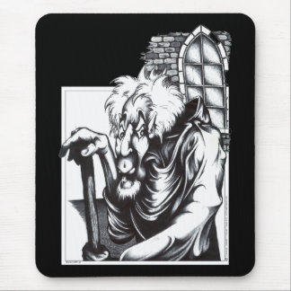 The Mad Monk Mousepads