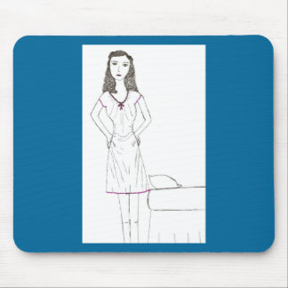 The Mad wife Mouse Pad