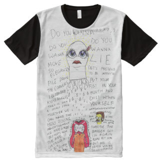 The Madness of Queen George All-Over Print T-Shirt