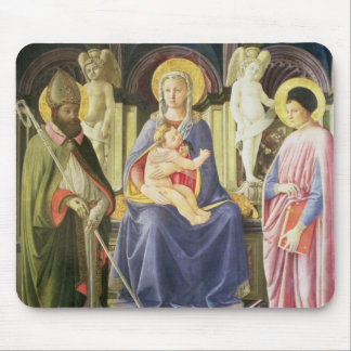 The Madonna and Child with SS. Clement and Justin, Mouse Mat