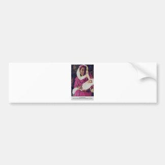 the madonna bumper sticker