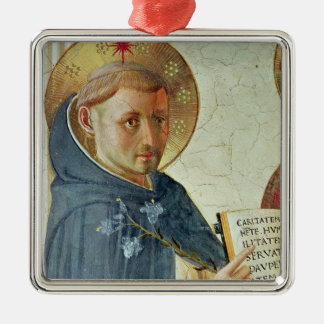 The Madonna delle Ombre, detail of St. Dominic Christmas Ornament