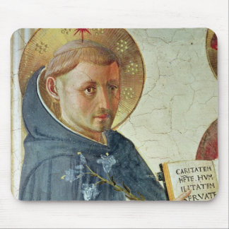 The Madonna delle Ombre, detail of St. Dominic Mouse Pad