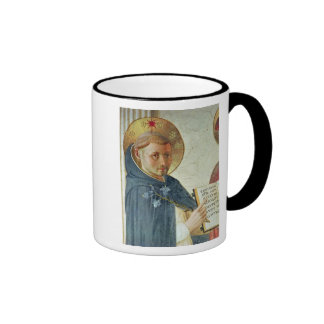 The Madonna delle Ombre detail of St Dominic Mugs
