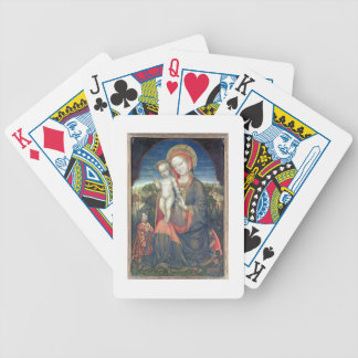 The Madonna of Humility adored by Leonello d'Este Bicycle Playing Cards