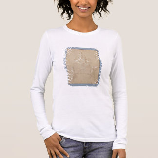 The Madonna of Loreto (pen and ink) Long Sleeve T-Shirt