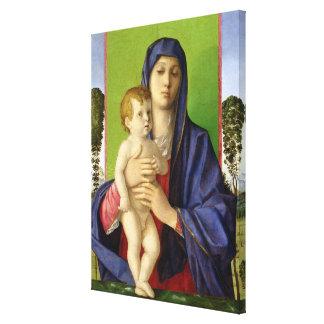 The Madonna of the Trees (Madonna degli Alberetti) Canvas Print