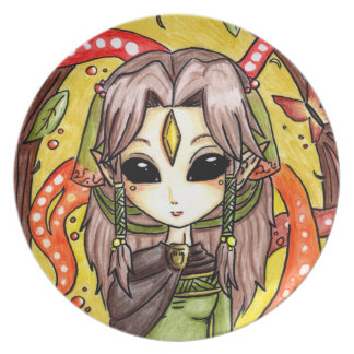 The Mages daughter Plate