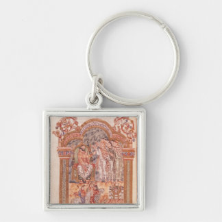 The Magi Visiting King Herod Key Ring