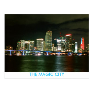 THE MAGIC CITY POSTCARD