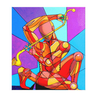 The magic flautist canvas print