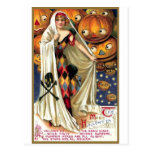 The Magic Halloween Postcard