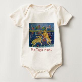 """The Magic Hares"" Baby Bodysuit"