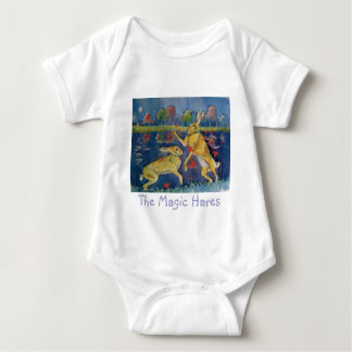 """The Magic Hares"" Baby Bodysuit"