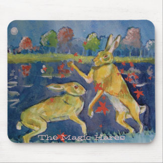 """The Magic Hares"" Mousemat"
