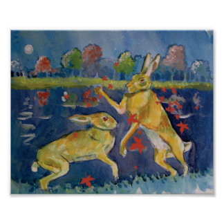 """""""The Magic Hares"""" Poster"""