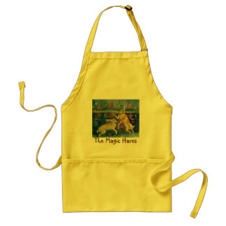 """The Magic Hares"" Standard Apron"