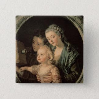 The Magic Lantern, 1764 15 Cm Square Badge