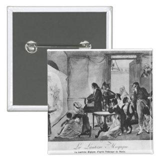The Magic Lantern, 1798 15 Cm Square Badge