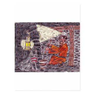 The Magic miner Postcards