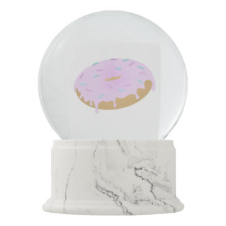 The Magic of Doughnuts Snow Globe