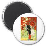 The Magic Of Oz 6 Cm Round Magnet