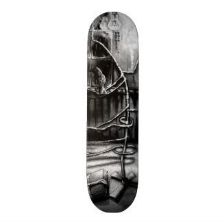 The magic of that Christmas tree. 18.1 Cm Old School Skateboard Deck