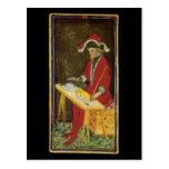 The Magician Tarot Card Post Card