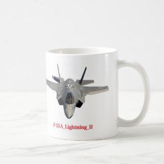 The magnetic cup of F-35A Lightning II Basic White Mug