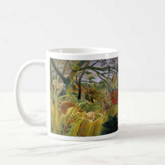"The magnetic cup ""of Tiger in a Tropical Storm"" Mugs"