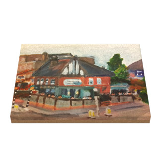 "The Maid of Muswell With Patrons 10"" x 8"" Canvas Print"