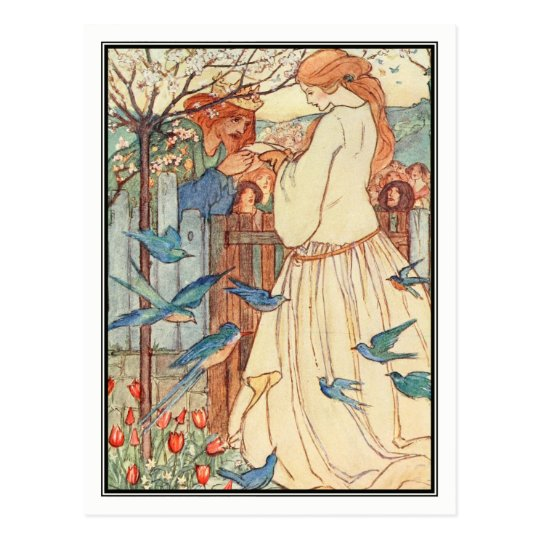 The Maiden Song by Florence Harrison Postcard