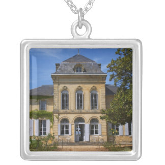 The main chateau building, renovated by silver plated necklace