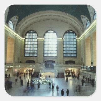 The Main Concourse (photo) Square Sticker