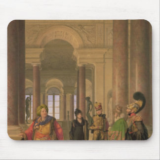 The Main Staircase of the Louvre, 1817 Mouse Mat