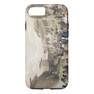 The Main Street in the Bazaar at Caubul, in the Fr iPhone 8/7 Case