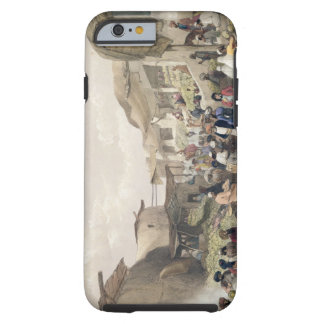 The Main Street in the Bazaar at Caubul, in the Fr Tough iPhone 6 Case