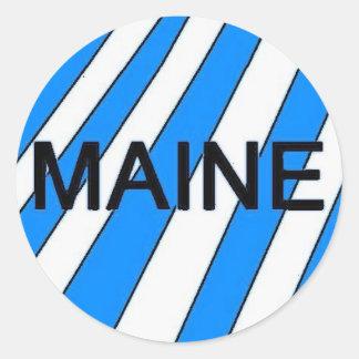 The Maine Sticker