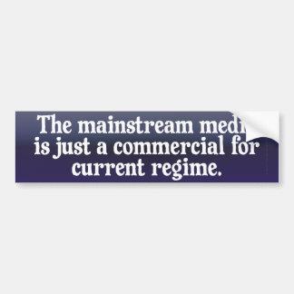 The Mainstream Media Bumper Sticker