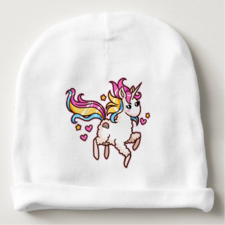 The Majestic Llamacorn Baby Beanie