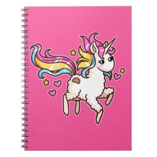 The Majestic Llamacorn Notebooks