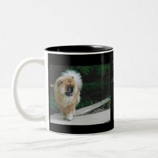 The Majestic Maggie Two-Tone Coffee Mug